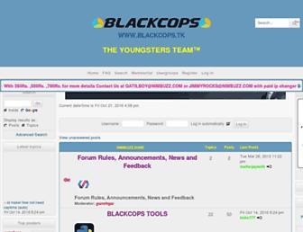 blackcops.forumotions.in screenshot