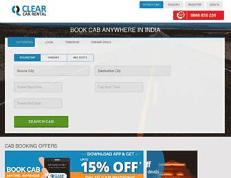 Thumbshot of Clearcarrental.com