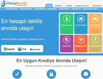 Thumbshot of Hesapkurdu.com