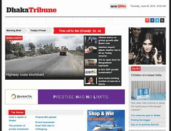 Thumbshot of Dhakatribune.com