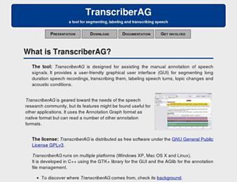 transag.sourceforge.net screenshot