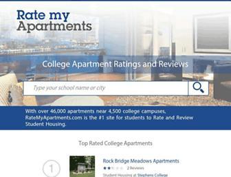 ratemyapartments.com screenshot