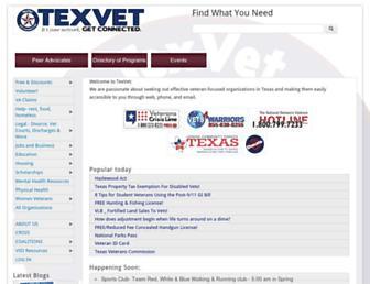 texvet.org screenshot