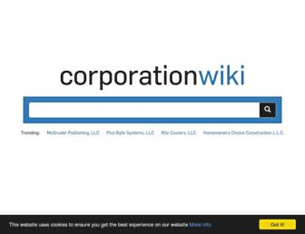 Thumbshot of Corporationwiki.com
