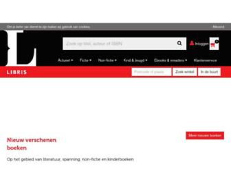 libris.nl screenshot