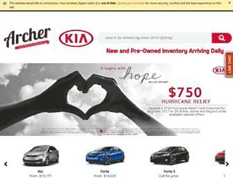 archerkia.com screenshot