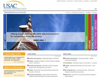 Thumbshot of Usac.org