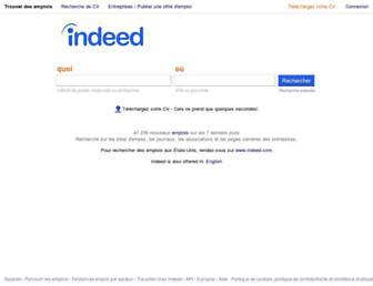 emplois.ca.indeed.com screenshot