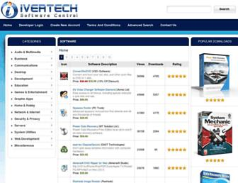software.ivertech.com screenshot
