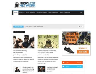 Thumbshot of Musichostnetwork.com
