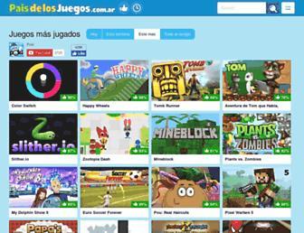 paisdelosjuegos.com.ar screenshot