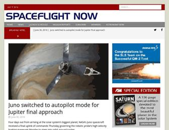 Thumbshot of Spaceflightnow.com