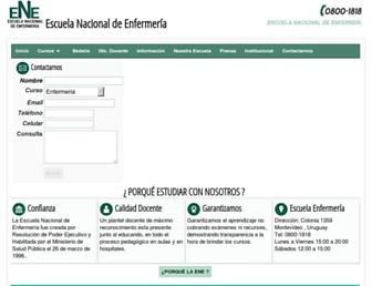 enfermeria.edu.uy screenshot