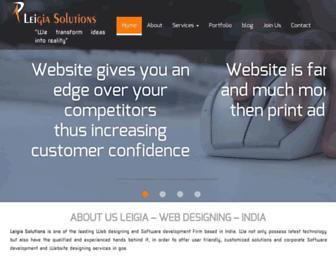 leigia.com screenshot