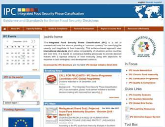 ipcinfo.org screenshot