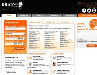 Thumbshot of Ukstaffsearch.com