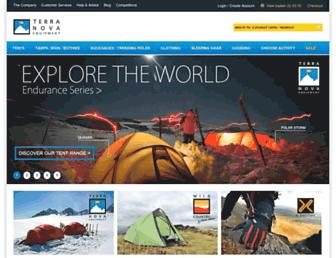 Main page screenshot of terra-nova.co.uk