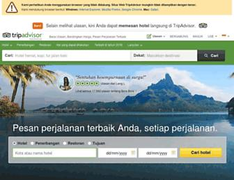 Thumbshot of Tripadvisor.co.id