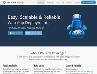 Thumbshot of Phusionpassenger.com