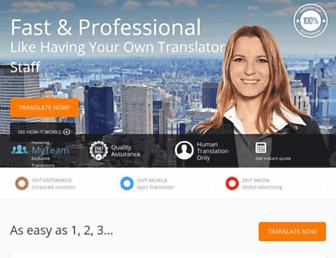 Thumbshot of Onehourtranslation.com