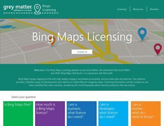 mapslicensing.com screenshot