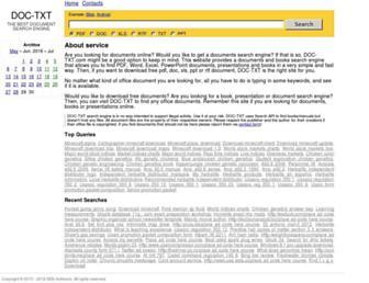 Thumbshot of Doc-txt.com