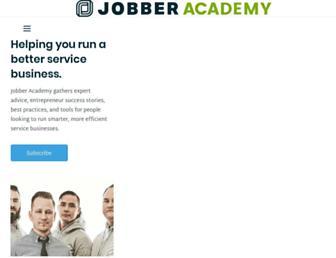 academy.getjobber.com screenshot