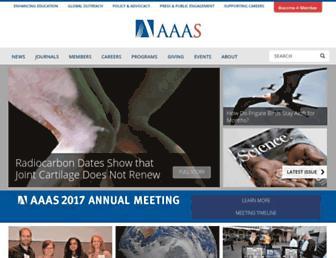 Thumbshot of Aaas.org