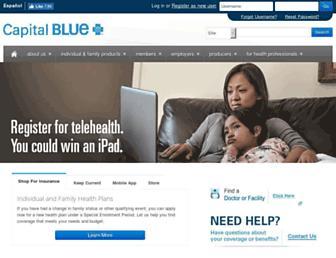 capbluecross.com screenshot