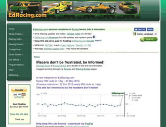 edracing.com screenshot