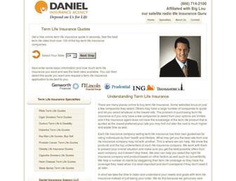 danielagency.com screenshot