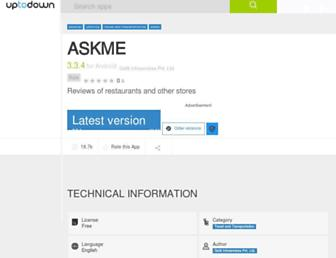 askme.en.uptodown.com screenshot