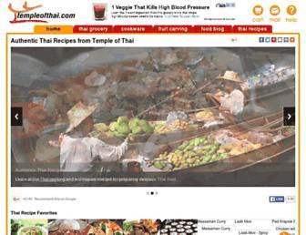 Thumbshot of Templeofthai.com
