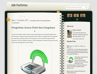 adefachreza.blogspot.com screenshot