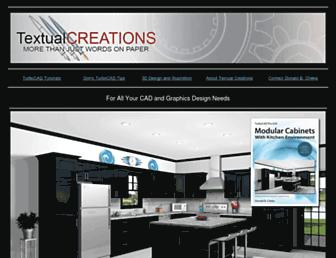 textualcreations.ca screenshot