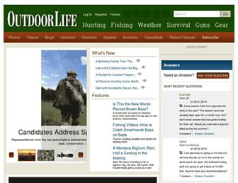 Thumbshot of Outdoorlife.com
