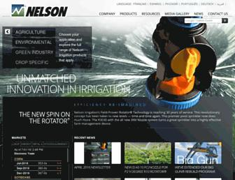 nelsonirrigation.com screenshot