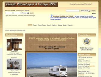classicwinnebagos.com screenshot