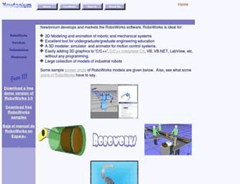 newtonium.com screenshot