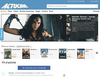 actucine.com screenshot
