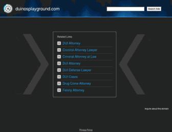 duinosplayground.com screenshot