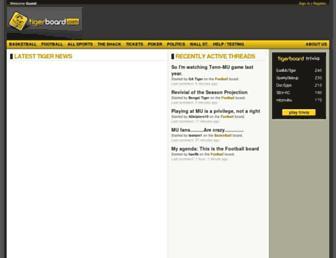 Thumbshot of Tigerboard.com