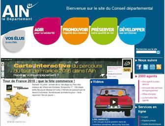 Thumbshot of Ain.fr