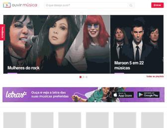 ouvirmusica.com.br screenshot