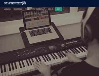 pianogroove.com screenshot