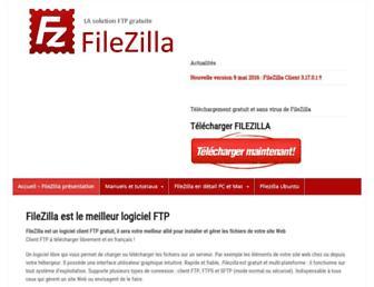 Thumbshot of Filezilla.fr