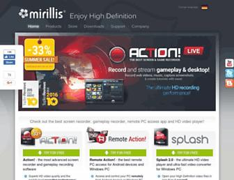 Thumbshot of Mirillis.com