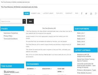 Thumbshot of The-free-directory.co.uk