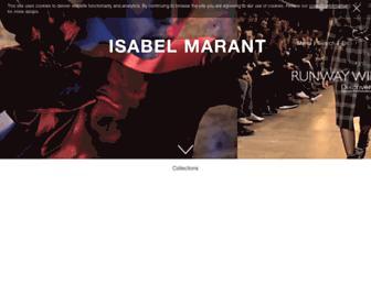 Thumbshot of Isabelmarant.com