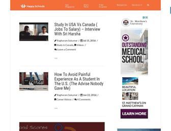 happyschools.com screenshot
